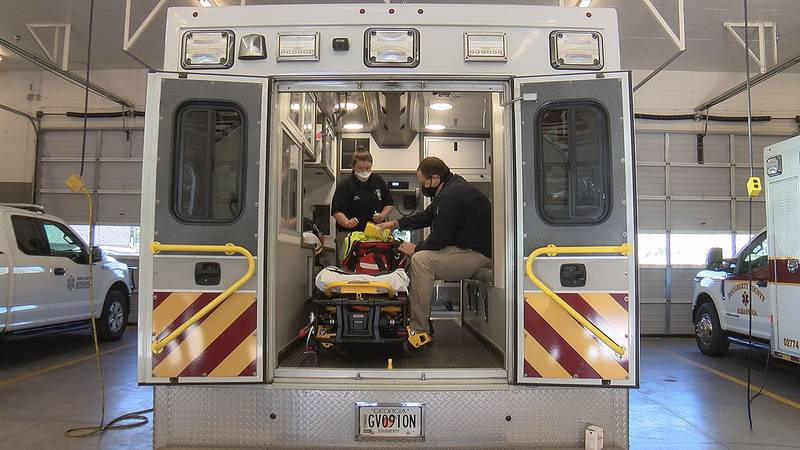 The Narcan nasal kits are much easier for EMS personnel to use than giving the Narcan...