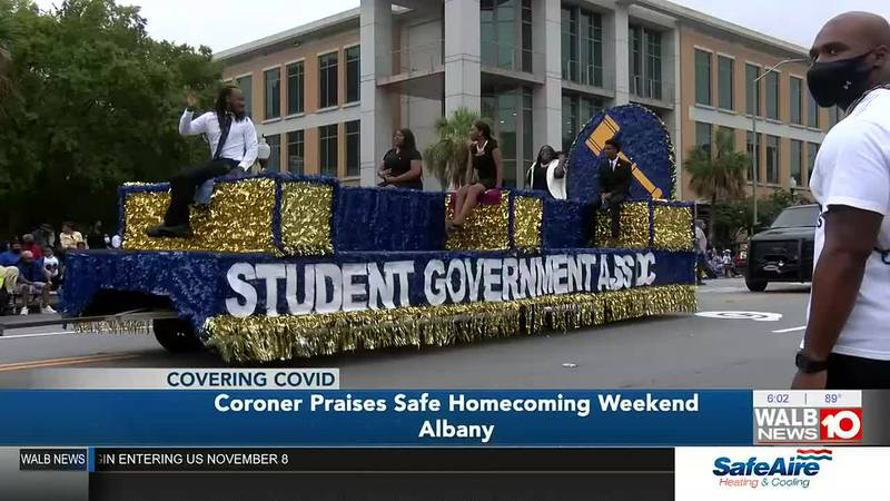 Coroner praises safe homecoming, encourages Saturday vaccination event