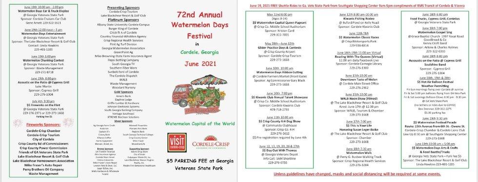 Watermelon Days Festival events