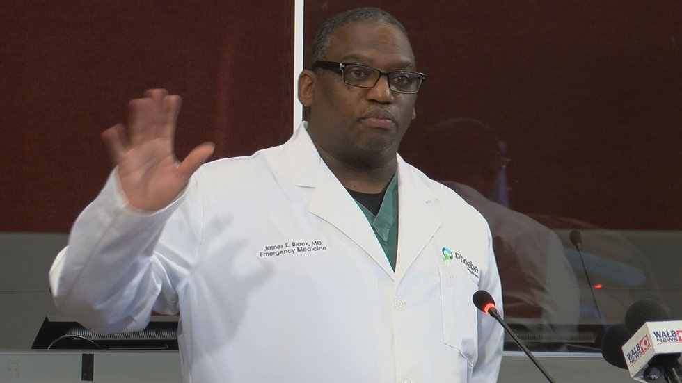 Dr. James Black, Emergency Service Medical Director at Phoebe
