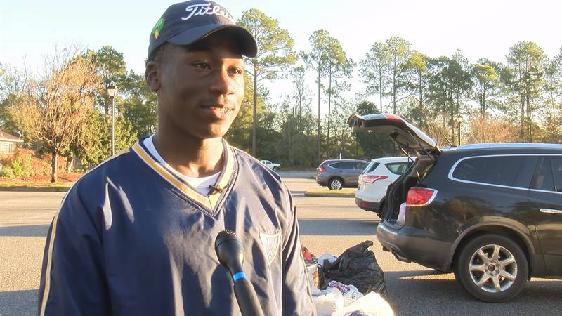 Fort Stewart soldier Stacey Taylor held a clothing drive to benefit those in need in Hinesville.