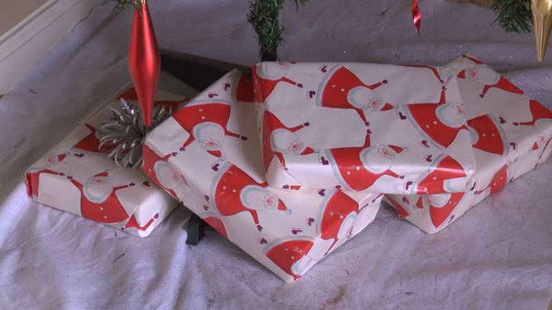 You can reuse wrapping paper and bows this season.