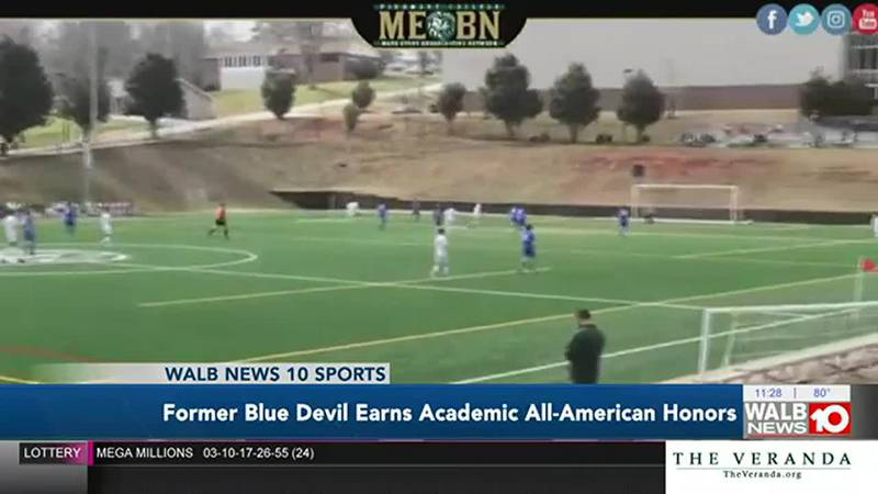 Cameron Earls receives Academic All-American honors