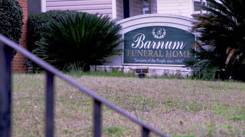 Barnum Funeral Home in Americus.