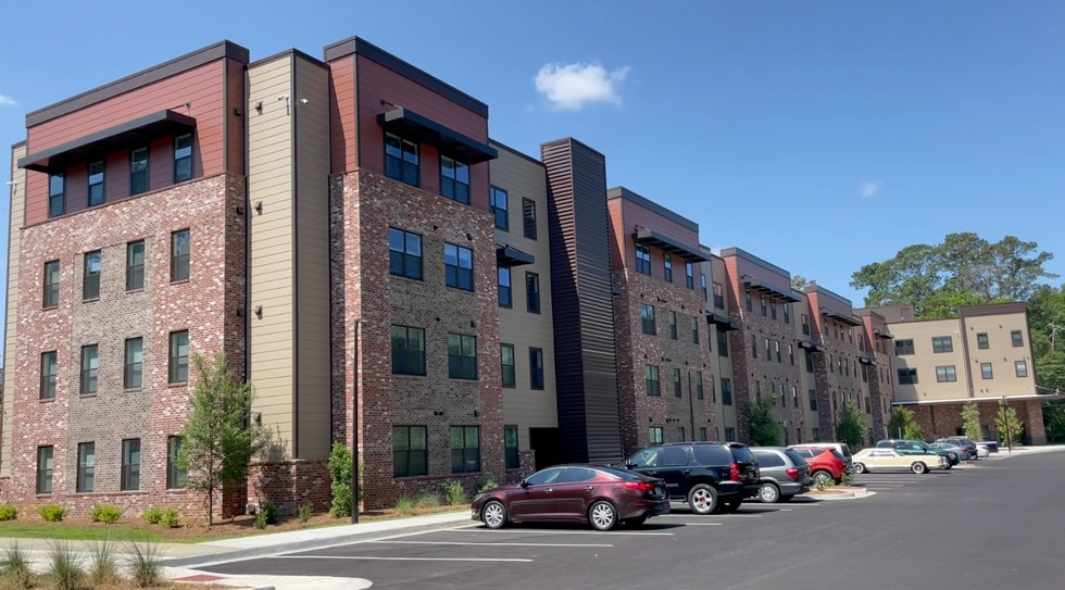 The Ashbury Apartments is a new complex in Valdosta.