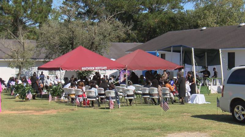 Funeral services for nine year old Ally Johnson were held Saturday in Tifton.