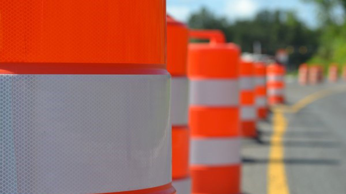 Road and bridge work is planned for the summer months