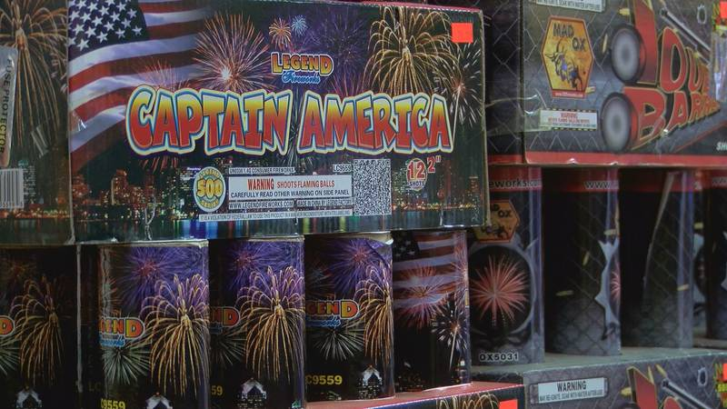 Fireworks are fun to watch but can be dangerous if not handled responsibly.