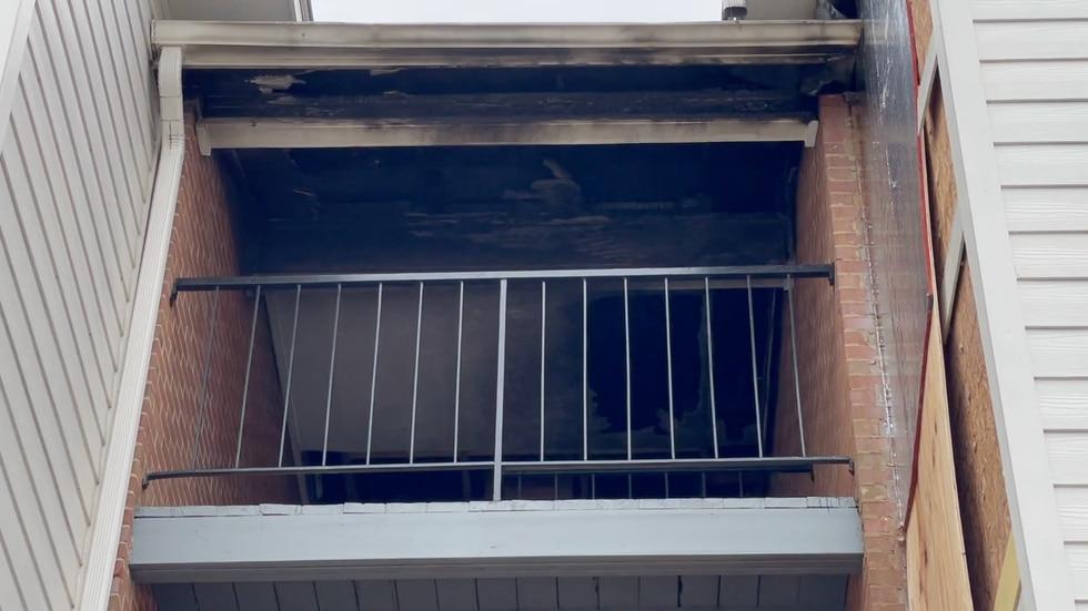 Valdosta Gables Apartment fire, 12 families displaced.