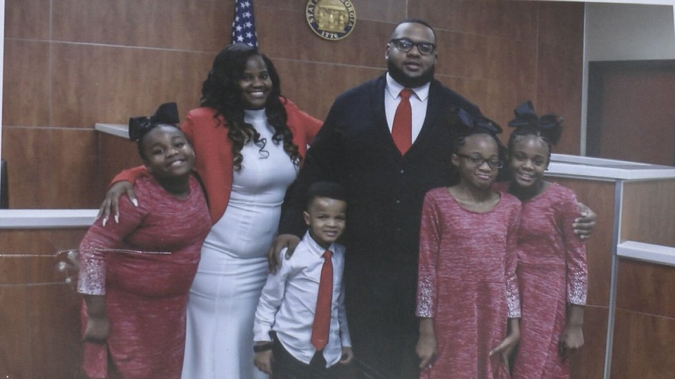 When their oldest daughter heard a tornado coming in January 2017, Ward's wife, LaShonda...
