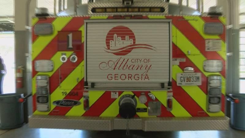 Albany fire truck.