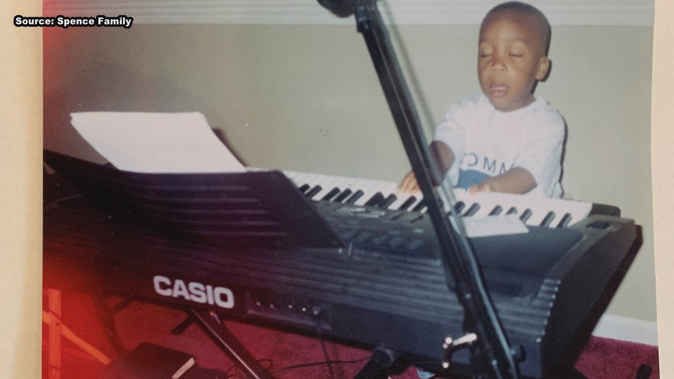 They both knew, from the beginning, music was in his future.
