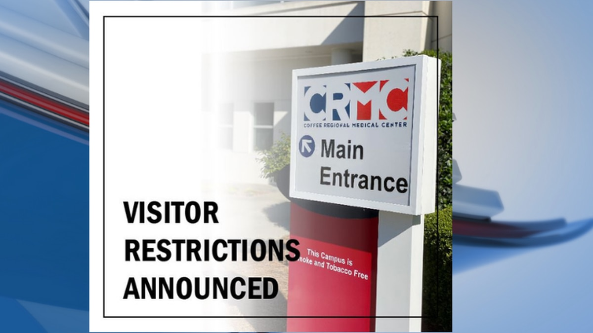 Coffee Regional Medical Center announce visitor restrictions