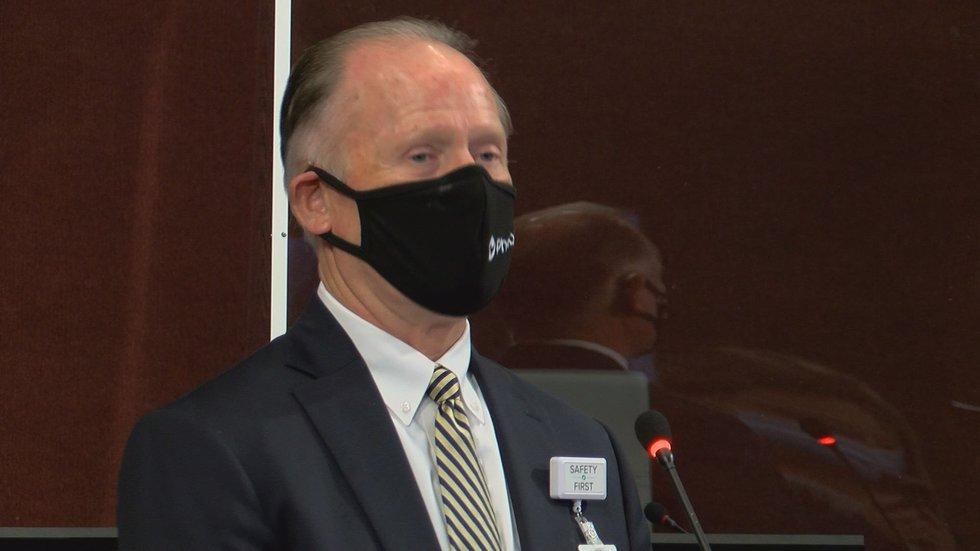 Phoebe Putney Memorial Hospital CEO Joe Austin said in the past week, they've had 13 deaths.