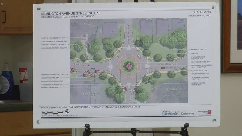 City holds open house on Remington Ave. Streetscape Project