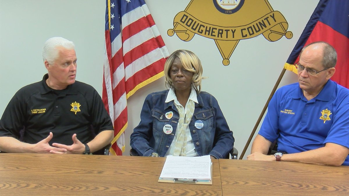The Albany Voter's Coalition is partnering with the Dougherty County Sheriff's Office to help...