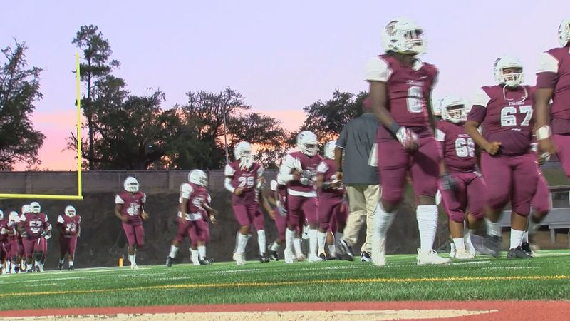 Dougherty Trojans in first game of the 2020 season (Source: WALB)