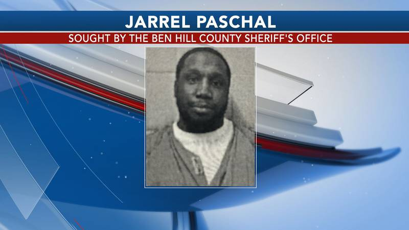 The Ben Hill County Sheriff's Office is looking for Jarrel Paschal.