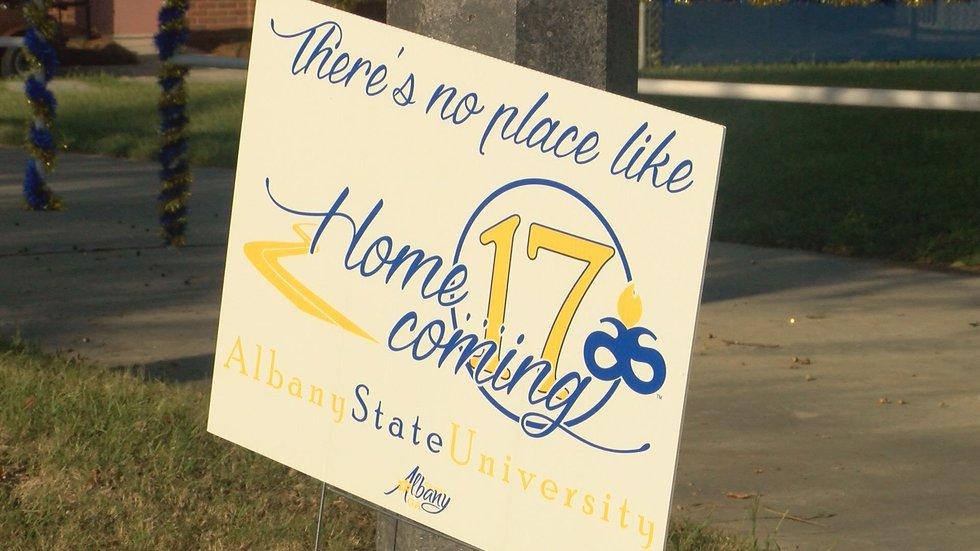 ASU's 2017 homecoming theme. (Source: WALB)
