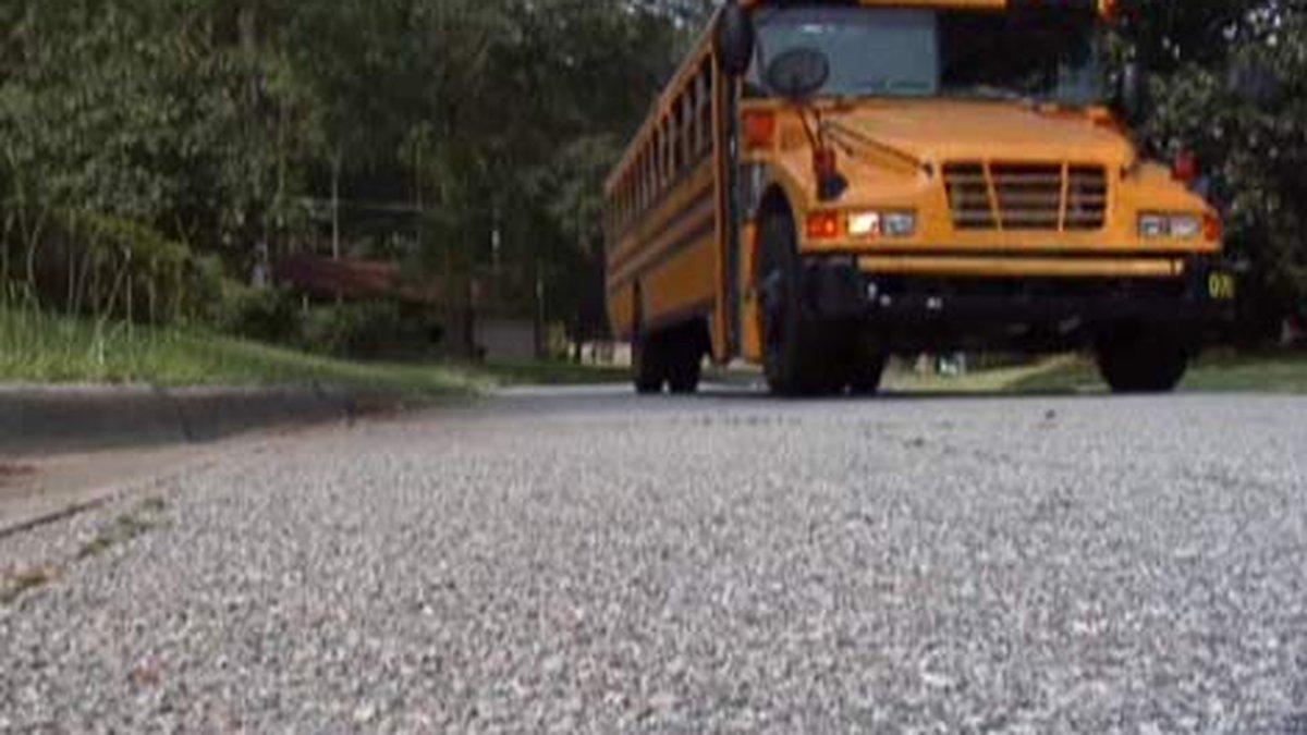 Savannah-Chatham County Public School bus. (Source: WTOC)