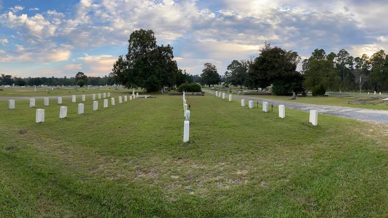 Evergreen Cemetery in Fitzgerald, Georgia