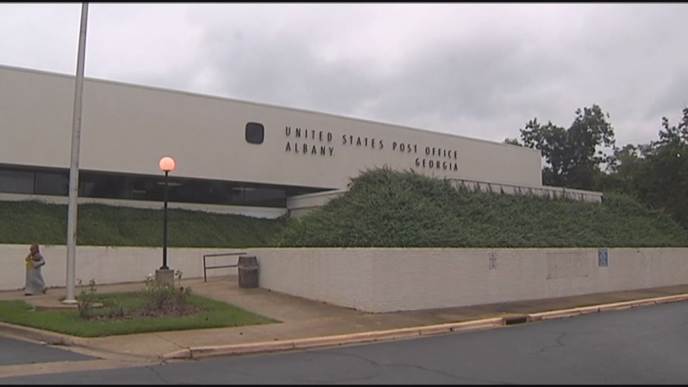 Albany Post Office on S. Slappey Blvd. (Source:WALB)