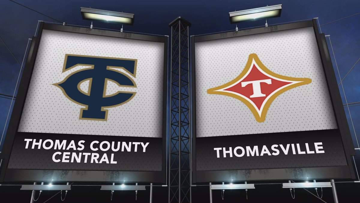 Thomasville and Thomas County Central went head to head in this week's Game of the Week