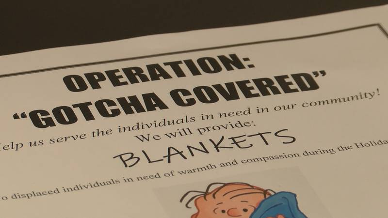 Peer Recovery Center to Hand out Blankets to Homeless