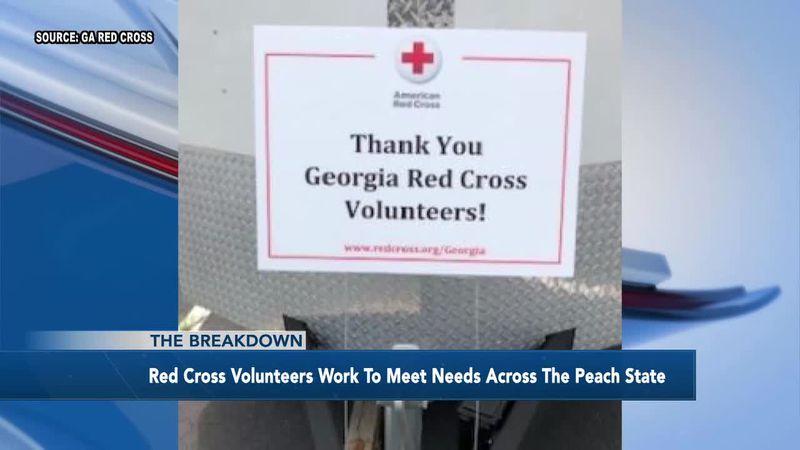 The Breakdown: Red Cross Volunteers work to meet needs across the Peach state