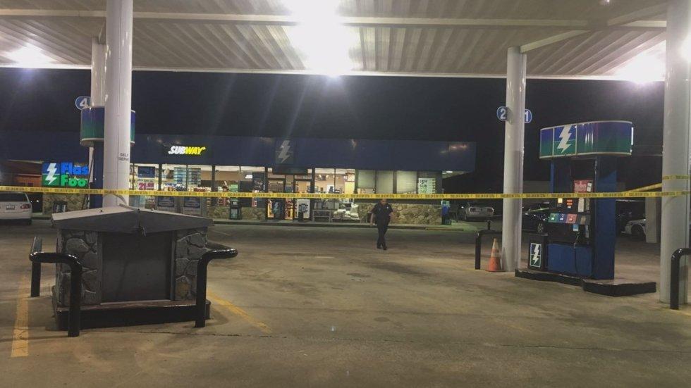 Robbery scene on North Irwin Ave. (Source: Ocilla Police)