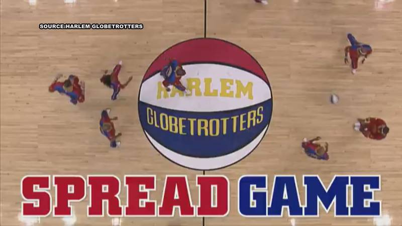 The Globetrotters are stopping in Albany for their Spread Game Tour.
