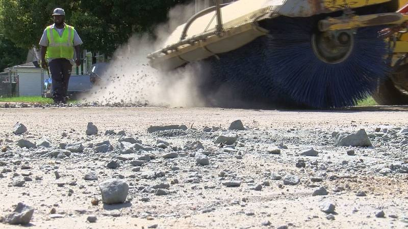 Moultrie residents pleased with road project