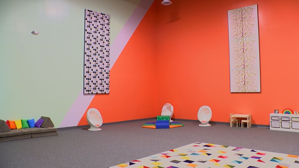 The newly renovated children's center will be used for the Museum's Toddler Tuesday program.