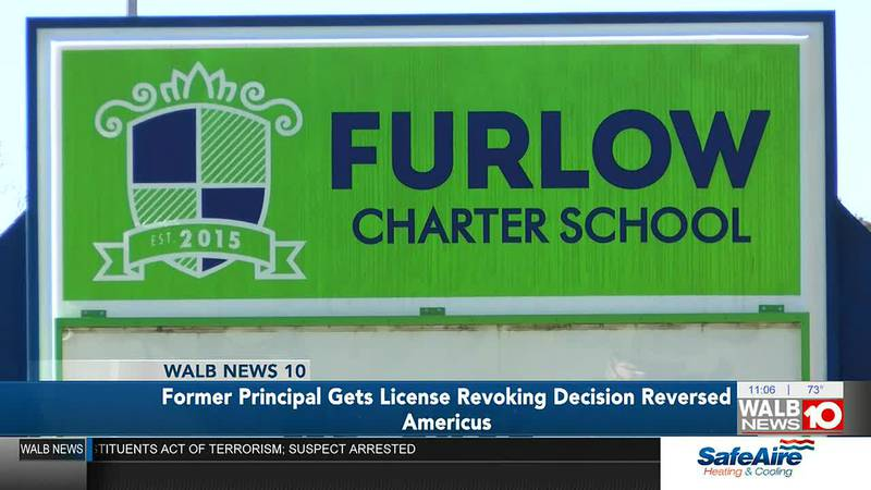 Decision reversed after former Americus principal has certification suspended