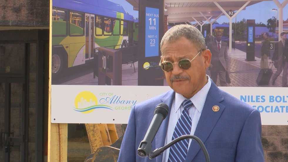 Rep. Sanford Bishop said this project is an example of policy turning into reality.