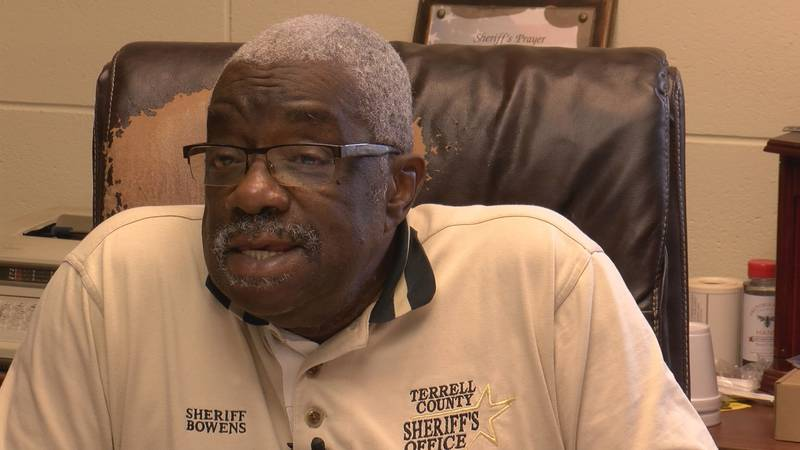 Terrell County Sheriff John Bowens said his duty is to serve everyone in Terrell County...