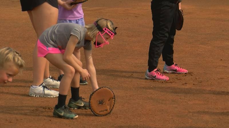 Colquitt County Hosts Little Lady Packer Softball Camp